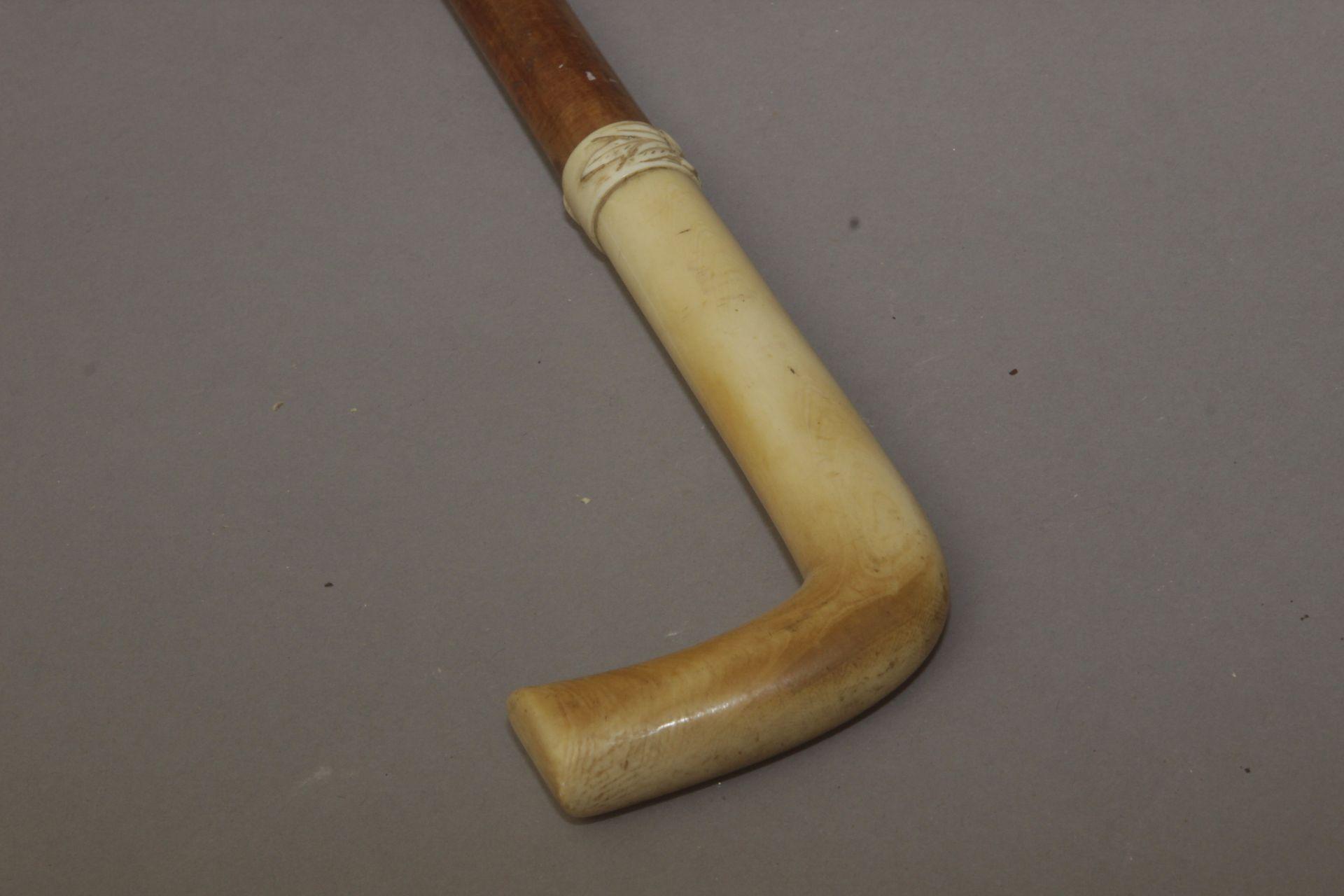 A first half of 20th century walking stick - Bild 4 aus 7