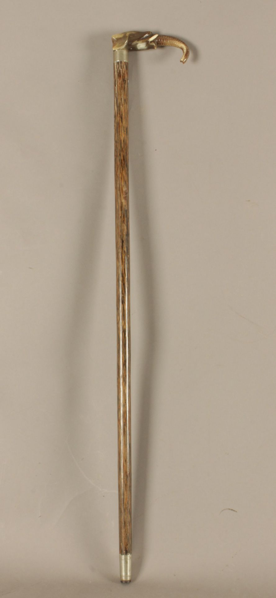 A Chinese walking stick circa 1900 - Bild 4 aus 5