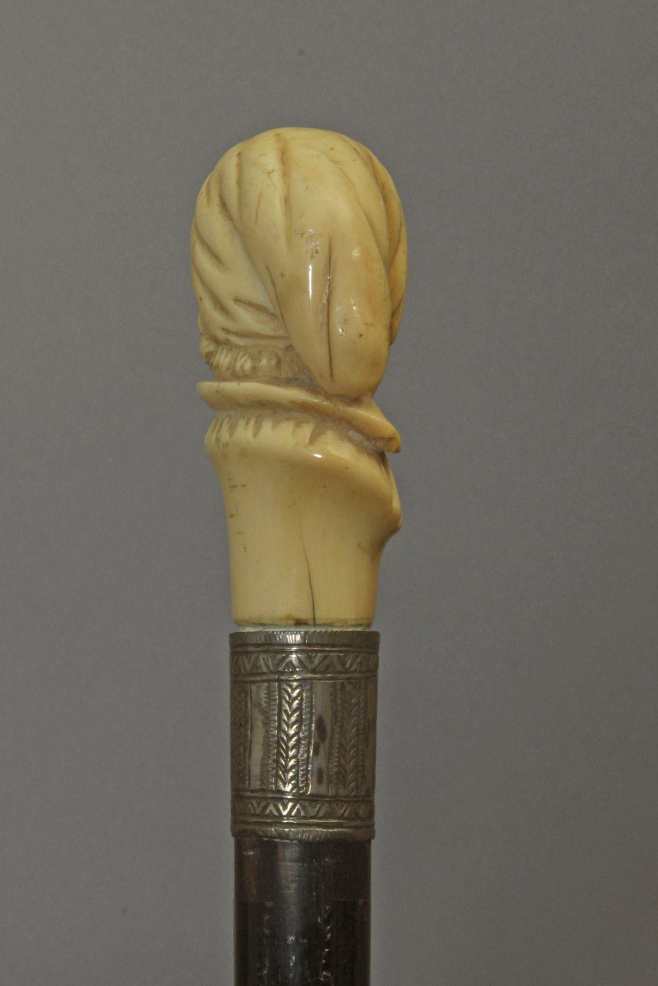 A 19th century walking stick - Bild 5 aus 6