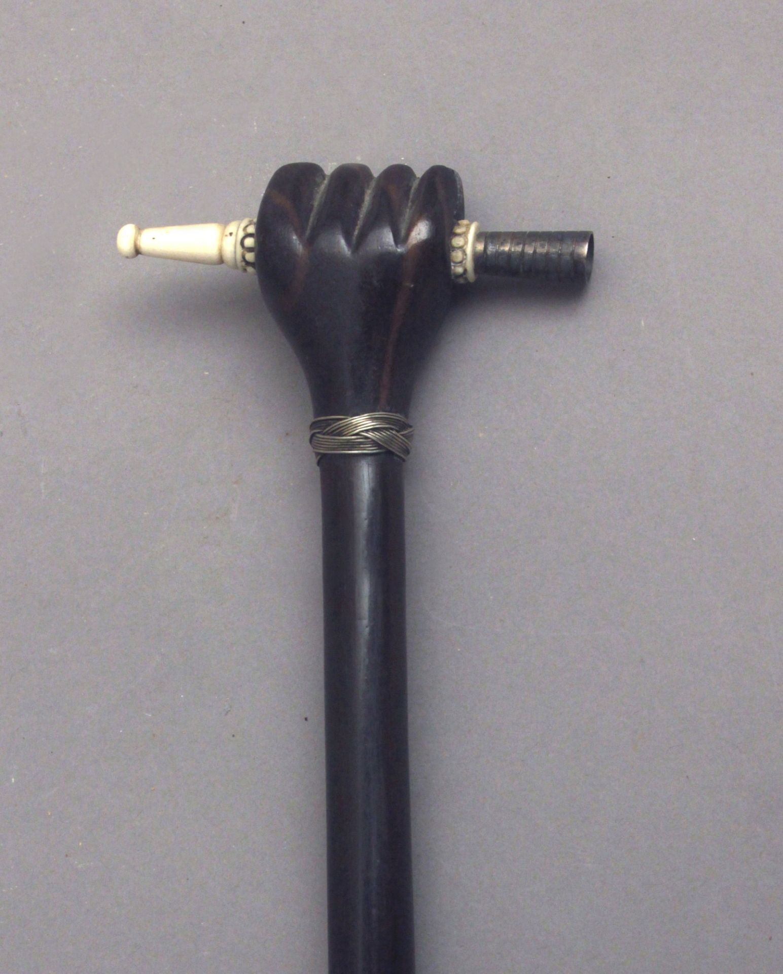A probably Anglo-Indian walking cane circa 1900