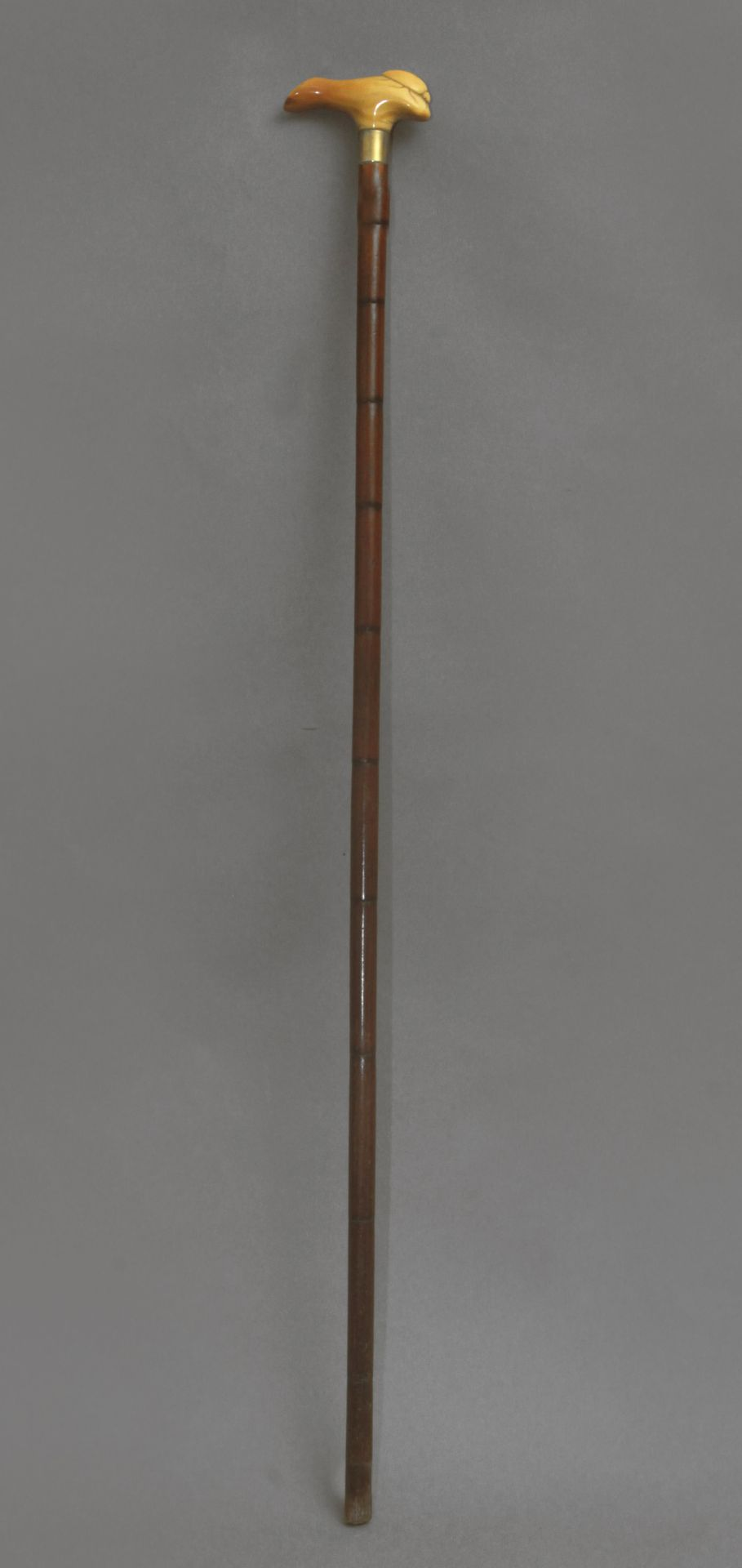 A 19th century probably Japanese walking stick - Bild 5 aus 9