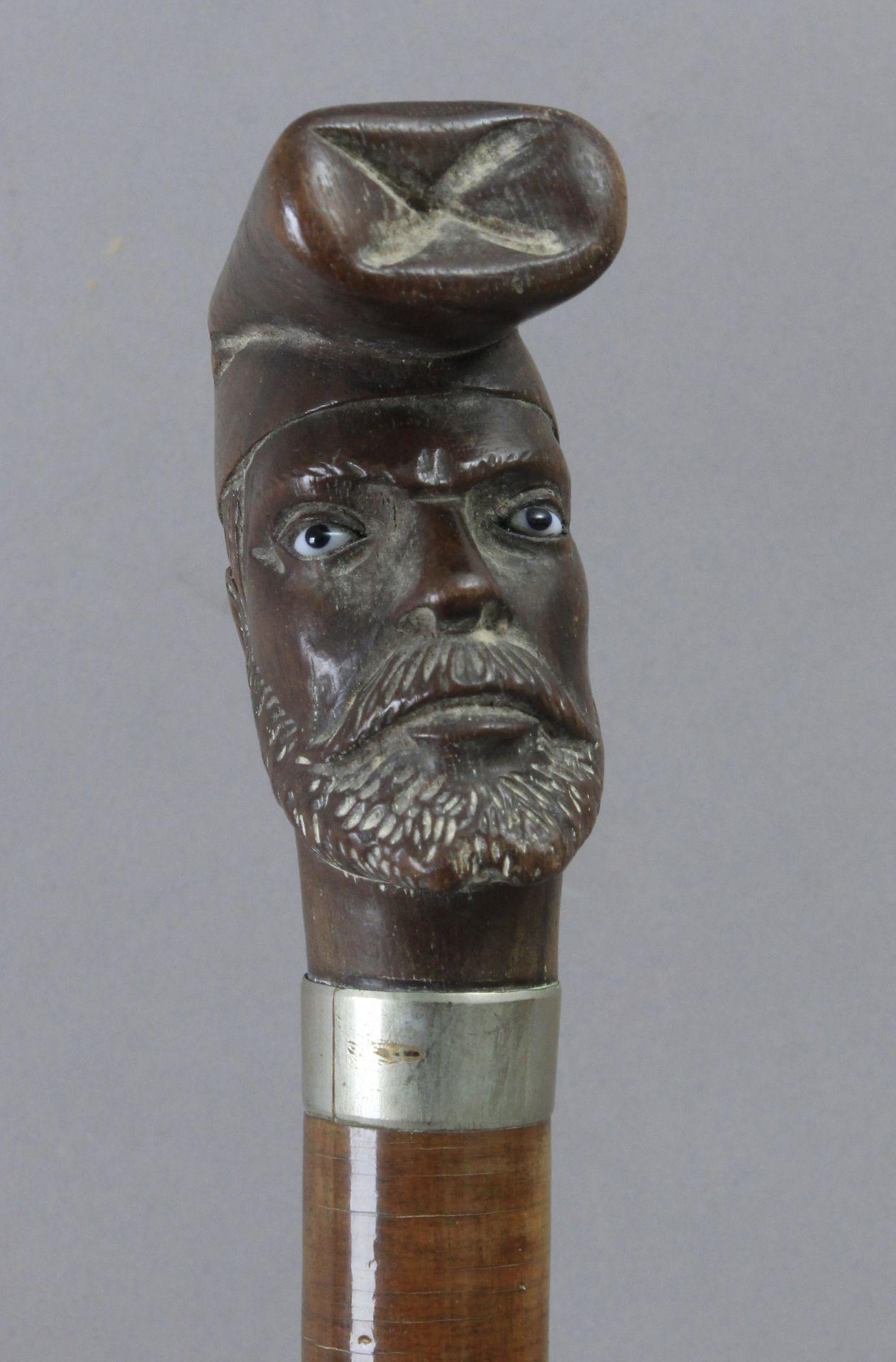 A late 19th century walking stick - Bild 3 aus 3