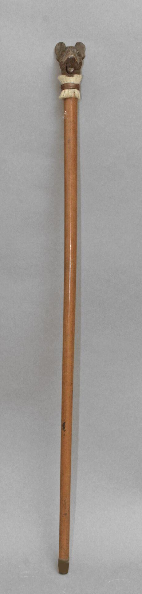 A first half 20th century walking stick - Bild 2 aus 5
