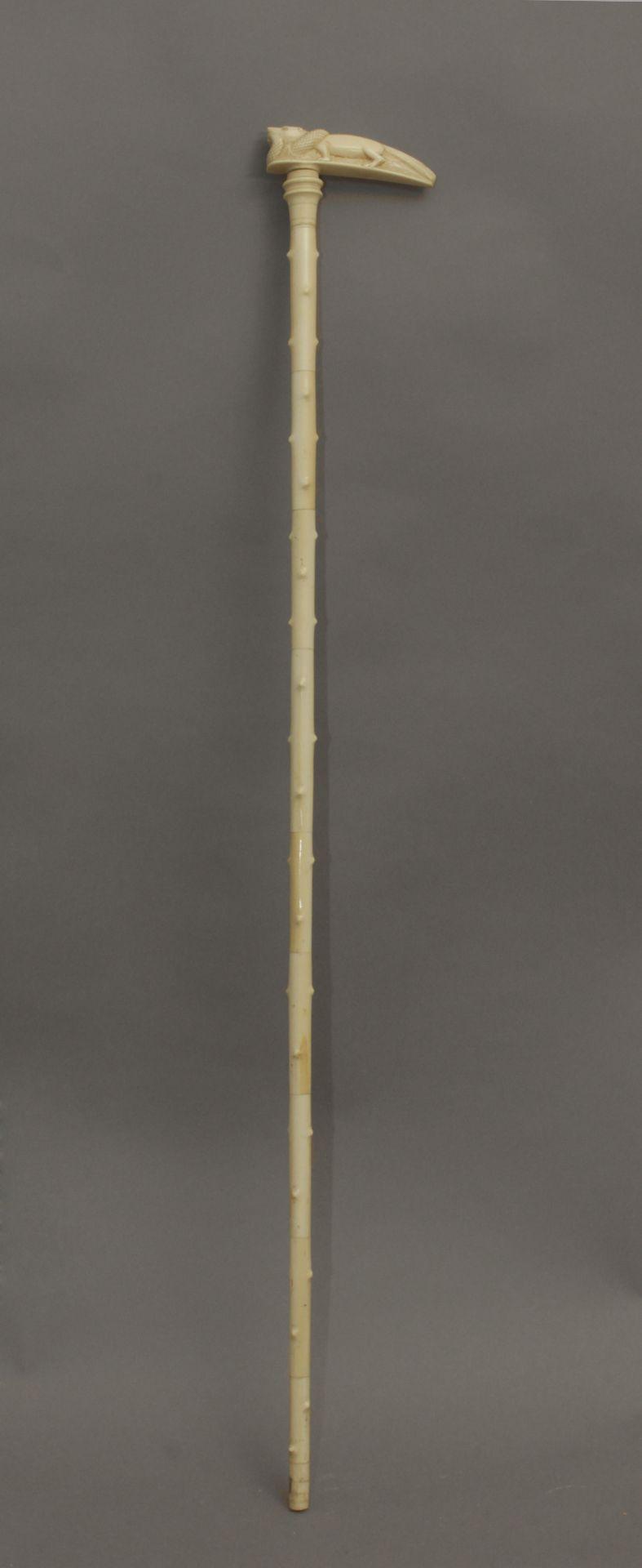 A 20th century walking stick - Bild 4 aus 6