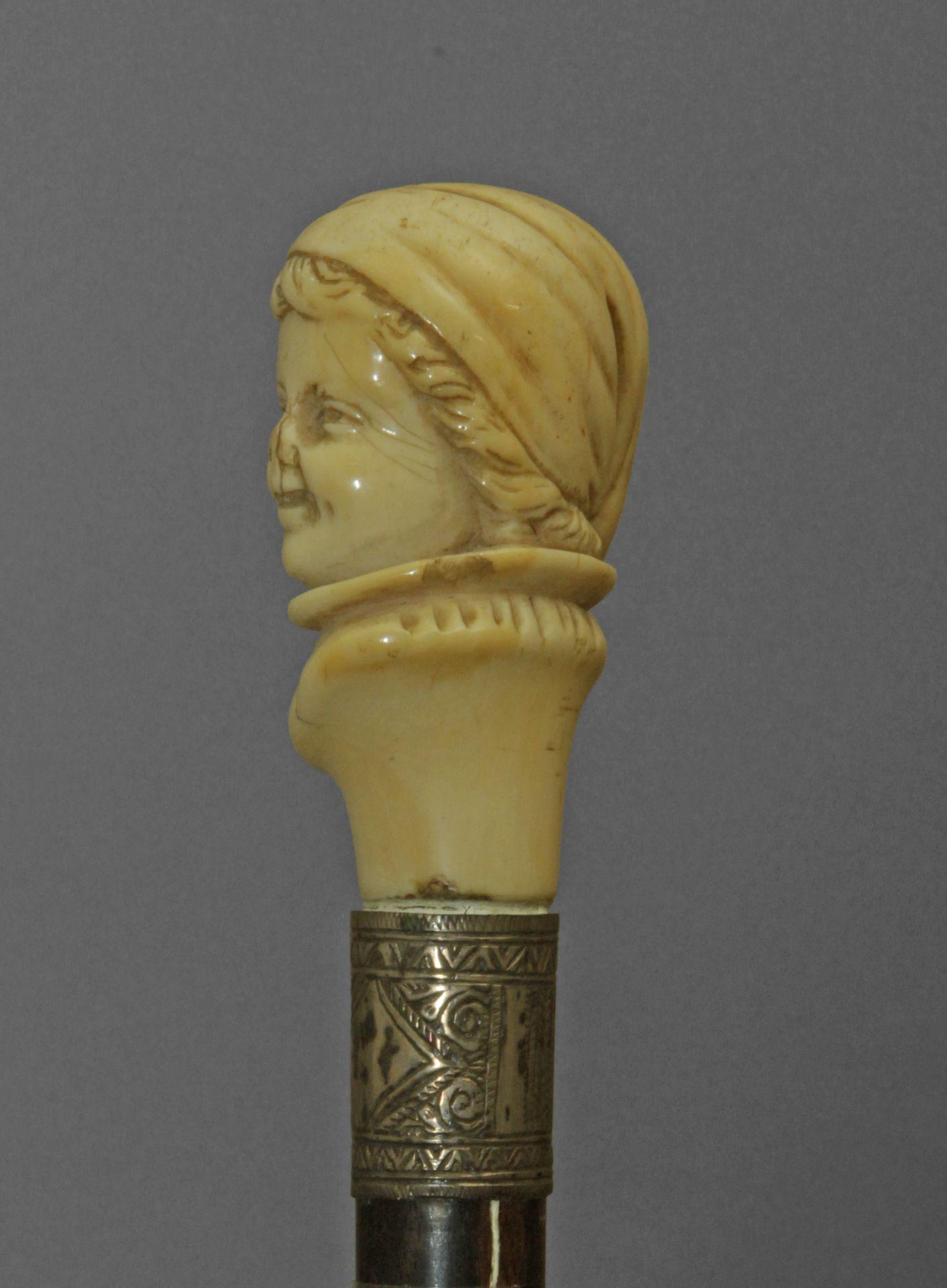 A 19th century walking stick - Bild 4 aus 6