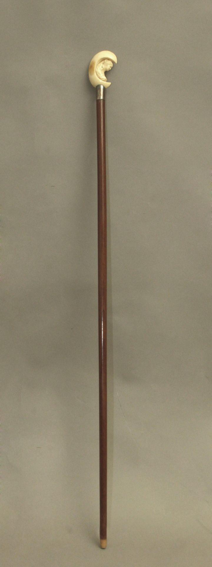 An ivory handled wlaking stick - Bild 3 aus 5