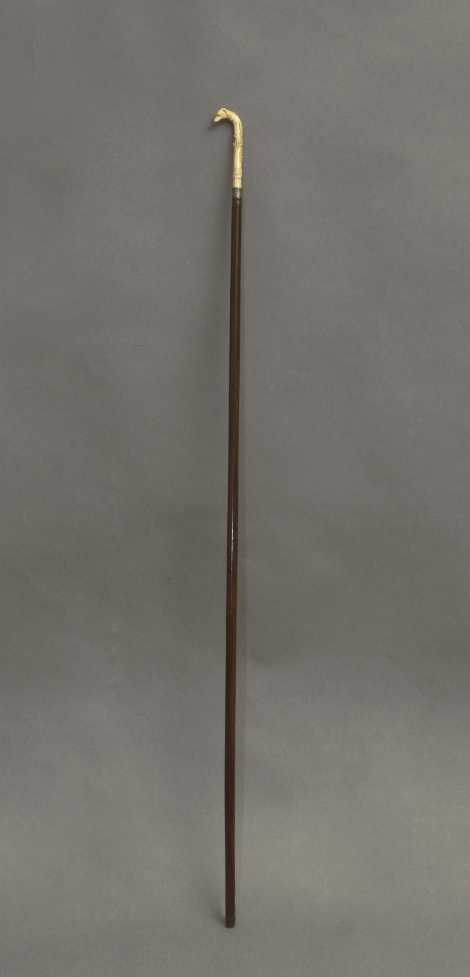 A 19th century probably English walking stick - Bild 2 aus 11