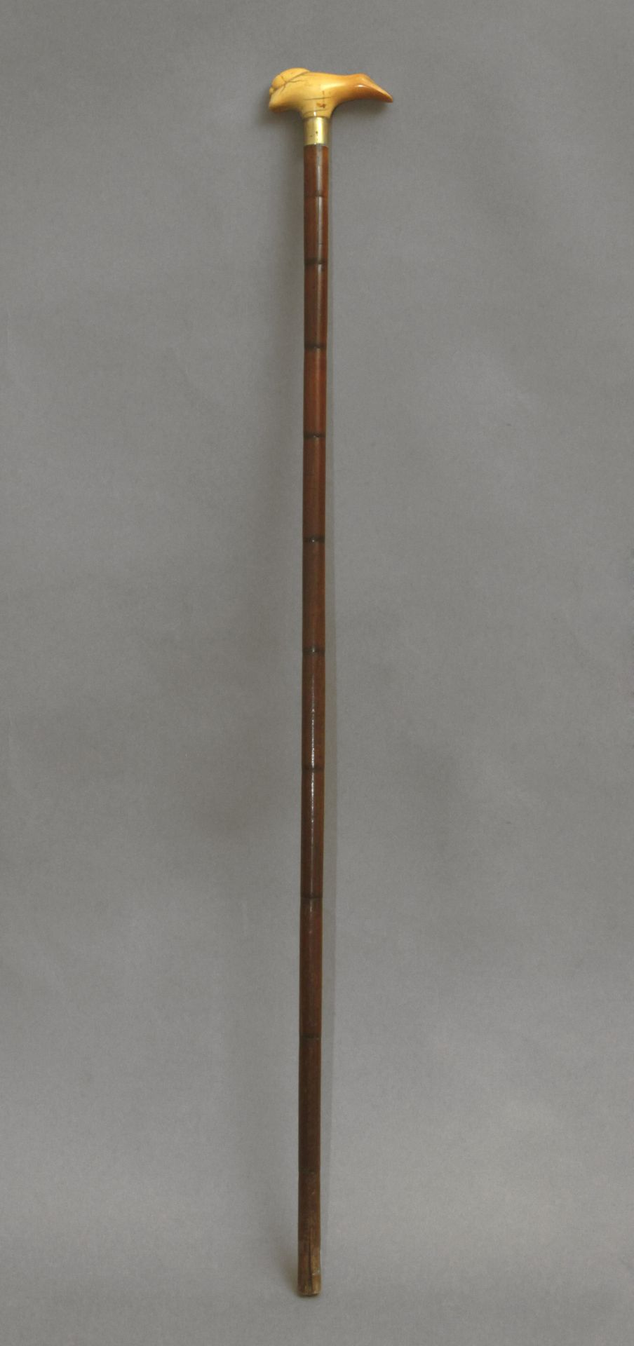 A 19th century probably Japanese walking stick - Bild 4 aus 9
