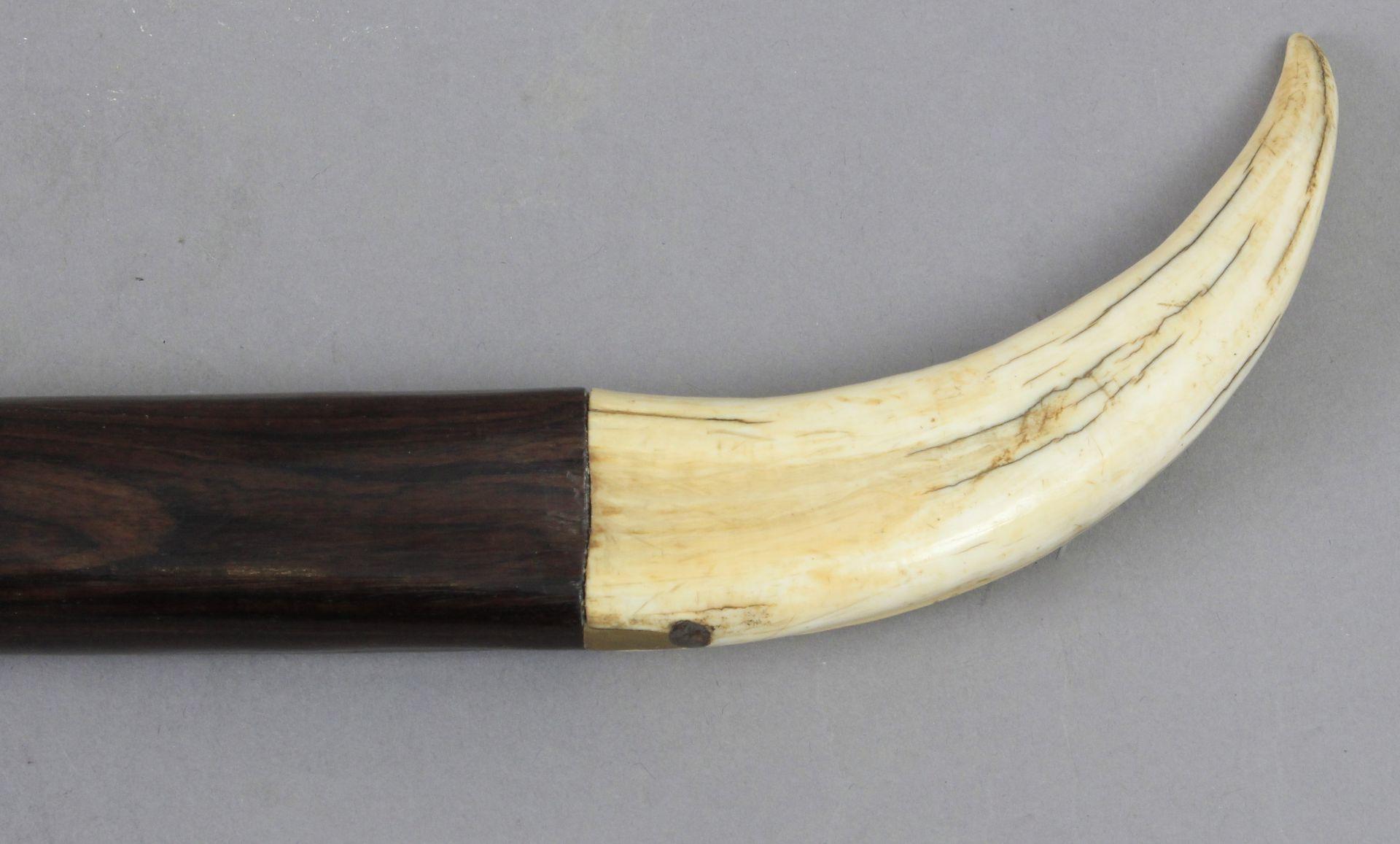 A 19th century walking stick