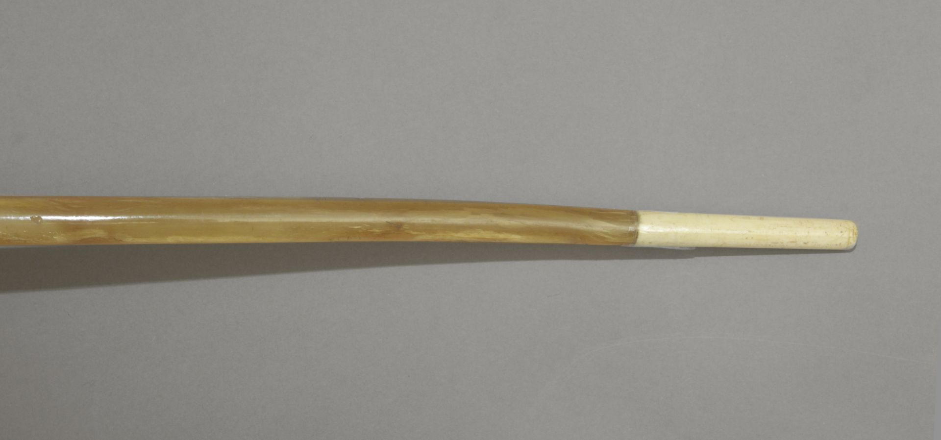 An ivory handled walking stick circa 1900 - Bild 3 aus 5