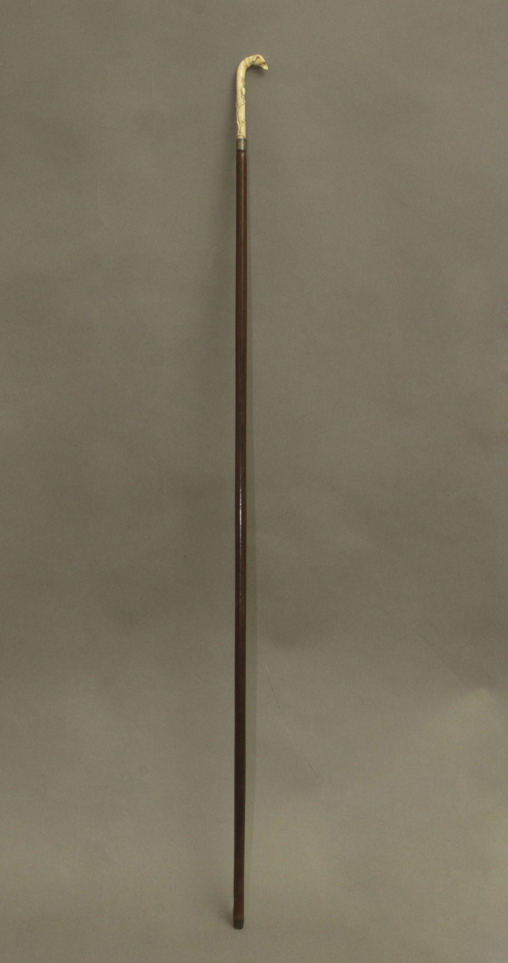 A 19th century probably English walking stick - Bild 3 aus 11