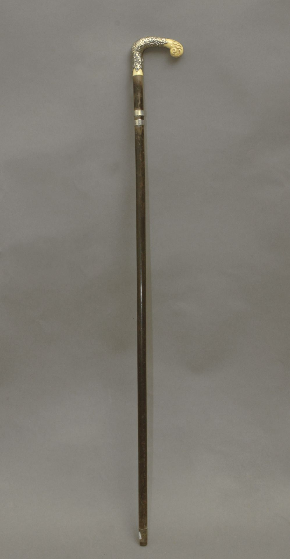 An ivory handled dress cane circa 1900 - Bild 4 aus 8
