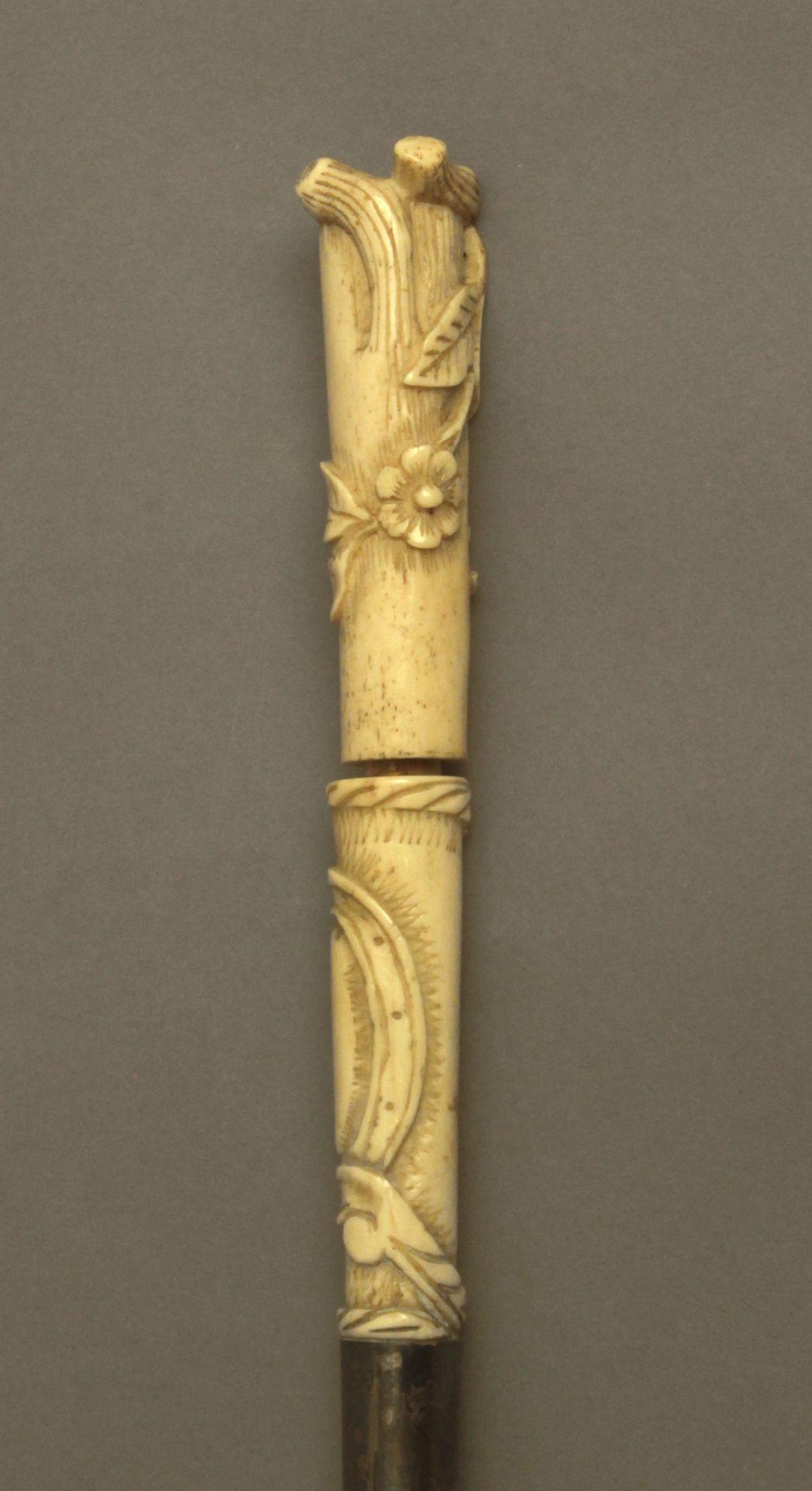 A 19th century walking stick - Bild 4 aus 7