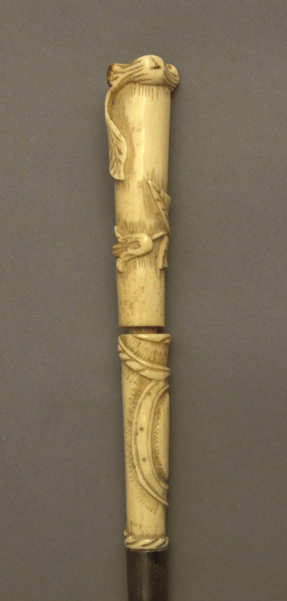 A 19th century walking stick - Bild 5 aus 7