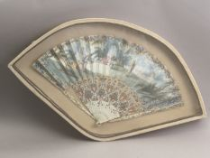 A French hand fan circa 1770-1780