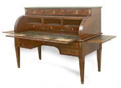 A French mahogany bureau from the First Empire (1804-1815)