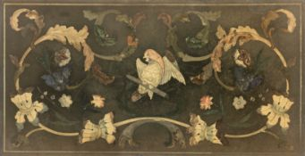 An 18th century Italian scagliola top, probably Tuscan
