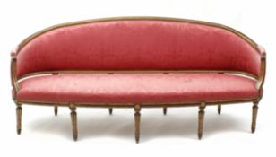 A 20th century Louis XVI style sofa