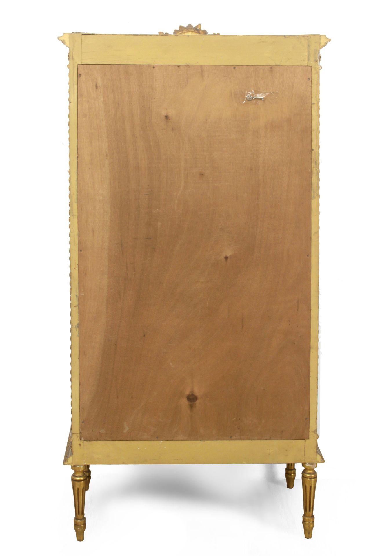 A 20th century Louis XVI style glass cabinet - Bild 3 aus 3