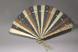 A late 19th century Chinese fan from Canton