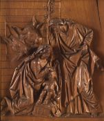 Masriera & Carreras. Carving of the Holy Family