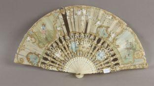 Hand fan circa 1900