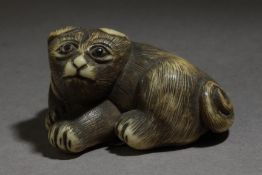 A first third of 20th century Japanese netsuke from Meiji period