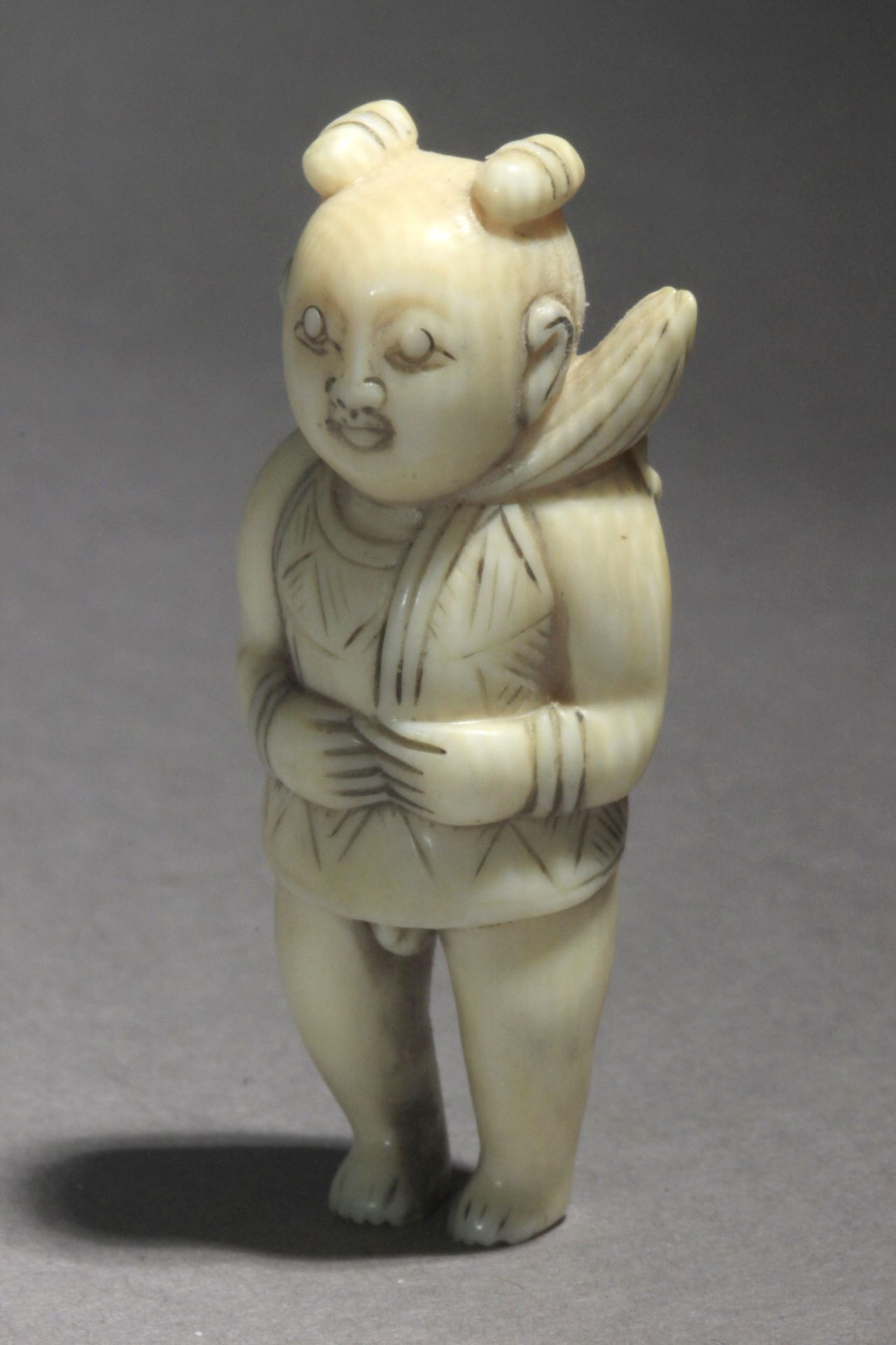 An early 19th century Japanese netsuke from Edo period