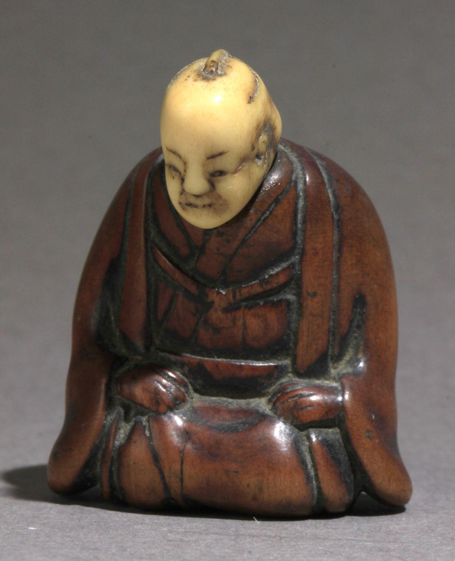 A 19th century Japanese netsuke from Edo period
