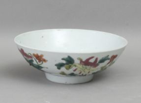 A Famille Rose porcelain bowl circa 1940-1960