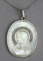 An Art-Déco devotional medal circa 1927