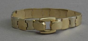 An 18th century yellow gold bracelet