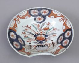 A 19th century Chinese barber's bowl in Imari porcelain
