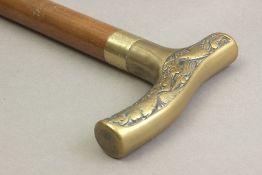 A 20th century walking stick.