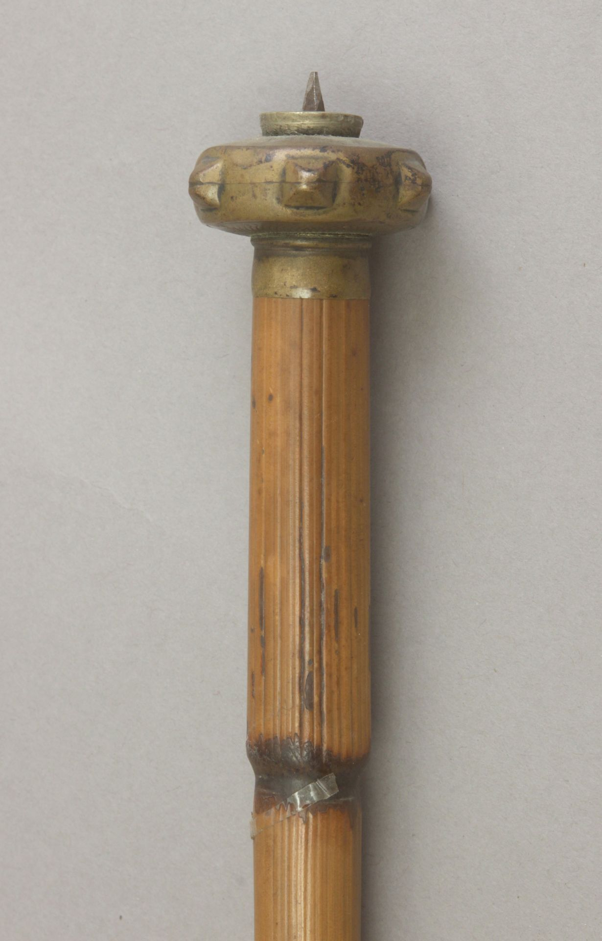 A 20th century makila style walking stick. - Image 2 of 3