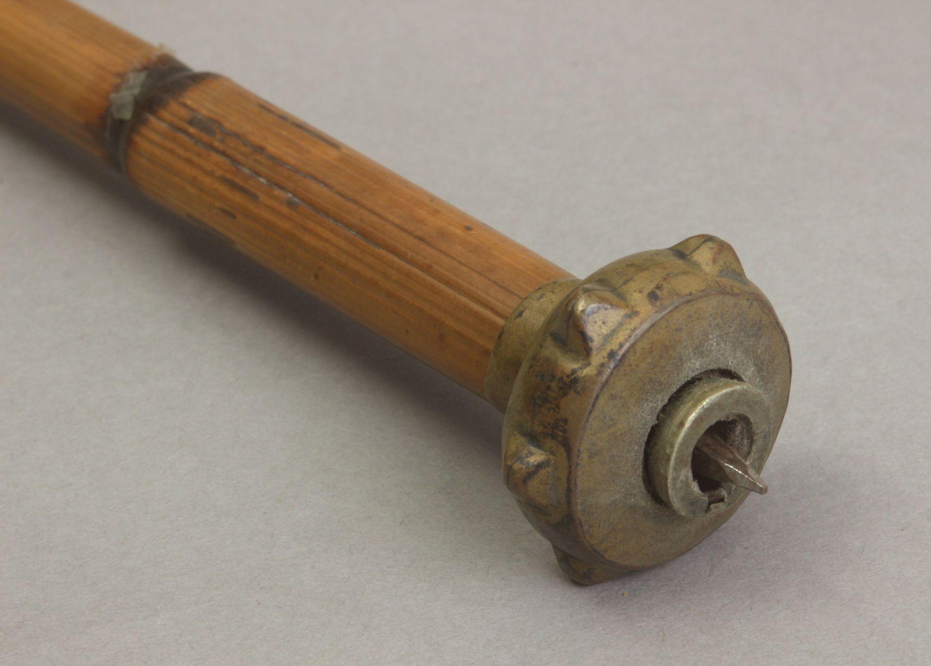 A 20th century makila style walking stick.