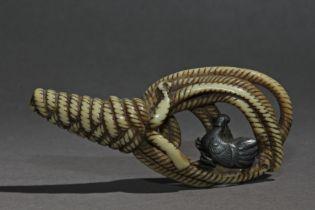 A late 18th century Japanese netsuke from Edo period