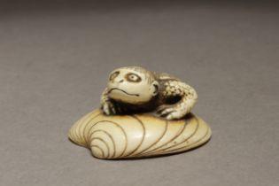 A 19th century Japanese netsuke