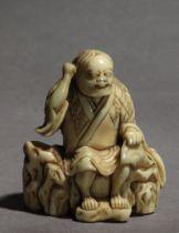 An early 18th century Japanese netsuke from Edo period