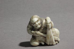 An early 19th century Japanese netsuke from Edo period