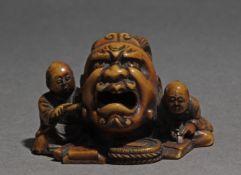 A Japanese netsuke from Edo period circa 1830-1870