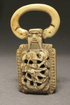 A Japanese netsuke-pendant from Edo period