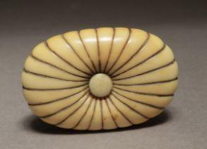 A 19th century Japanese manju