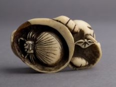 A 19th century Japanese netsuke from Meiji period