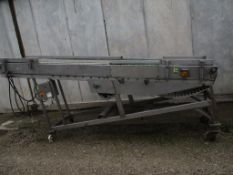 Belt Conveyor, approx. 171cm x 395cm x 89cm (understood to be for spares/ repairs), loading free