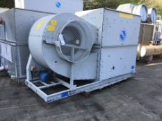 BAC VTL 059HR Cooling Tower , serial no. B0911012, plant no. N/A, year of manufacture N/A,