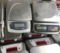 Three Assorted Scales (without power supplies - not in use), serial no. N/A, plant no. N/A, year