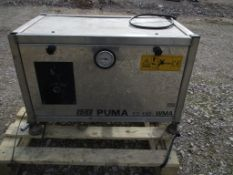 Edge Puma 23-130 Wall-Mounted Industrial Stainless Steel Pressure Washer, approx. 48cm x 70cm x 45cm