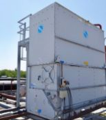 BAC VXC205R Cooling Tower, with PEDL 100 gantry , serial no. 34151, plant no. N/A, year of