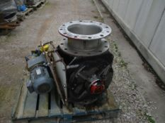 Stainless Steel Air Lock, with SEW motor gearbox, approx. 97cm x 90cm x 87cm, loading free of charge